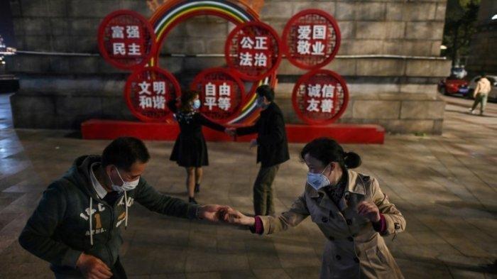 Aktivitas Kota Wuhan pasca dibuka kembali setelah lockdown
