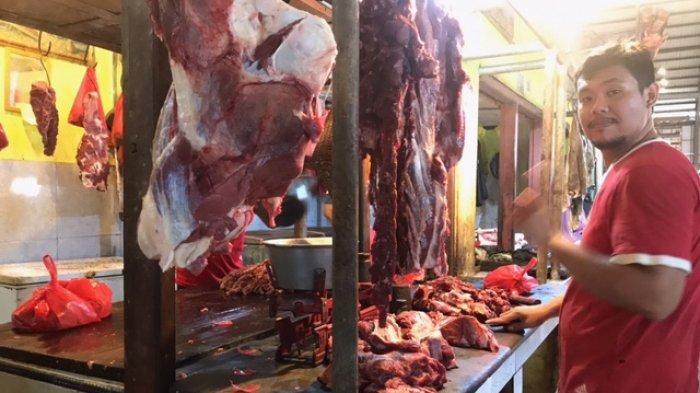 Sempat Naik Jelang Ramadhan, Harga Daging di Jambi Hari Ini Kembali Normal