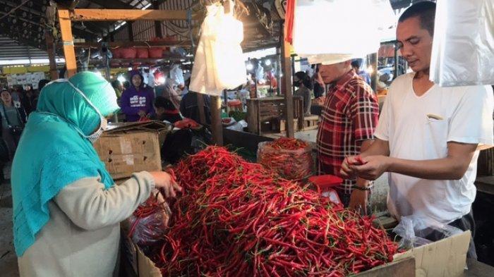 Pasokan Bertambah, Harga Cabai Merah dan Rawit di Jambi Berangsur Turun