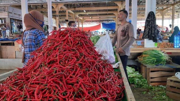 Jelang Ramadan, Harga Sembako di Pasar Rakyat Merangin Naik
