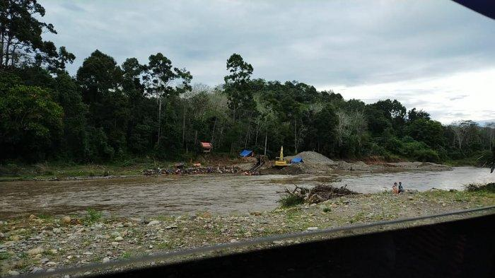 Detik-detik Musala Dusun Nangko Merangin Dibongkar Dijadikan Tambang Emas Ilegal