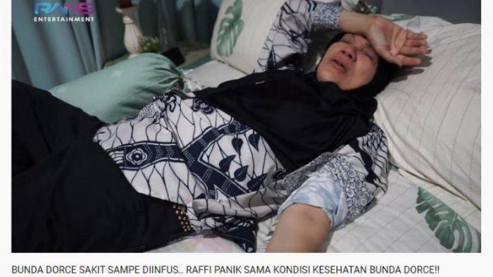 Baru Dua Hari jadi Sopir Raffi Ahmad,  Mendadak Dorce Mual-mual hingga Harus Diinfus