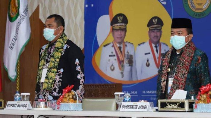 Syahrasaddin Terpilih Secara Aklamasi Pimpin Ikatan Keluarga Bungo Jambi