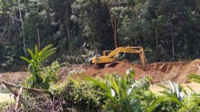 6 Ekskavator Beroperasi di Pelepat Bungo, Warga Resah Tragedi PETI Terulang, Tunggu Reaksi Aparat