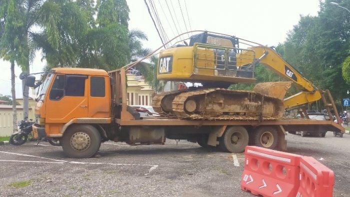 Main PETI di Merangin, 3 Warga Bungo Diamankan Polisi, Aparat Curiga Mobil Trado