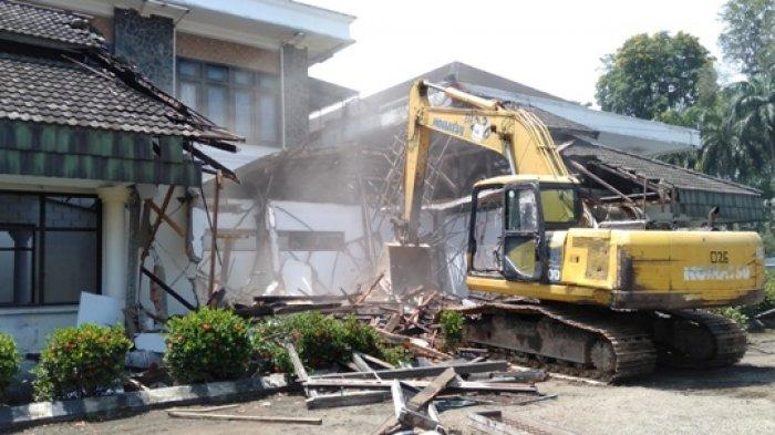 Material Bekas Gedung DPRD Kota Jambi akan Dilelang