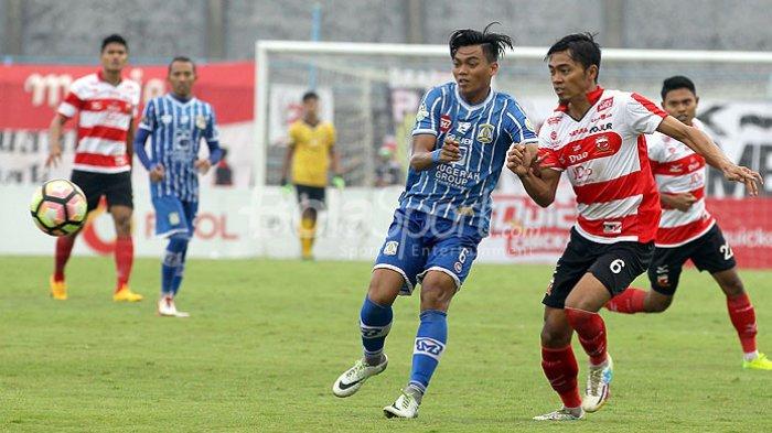 SEDANG TAYANG LIVE STREAMING Madura United vs PSS, Liga 1 2019