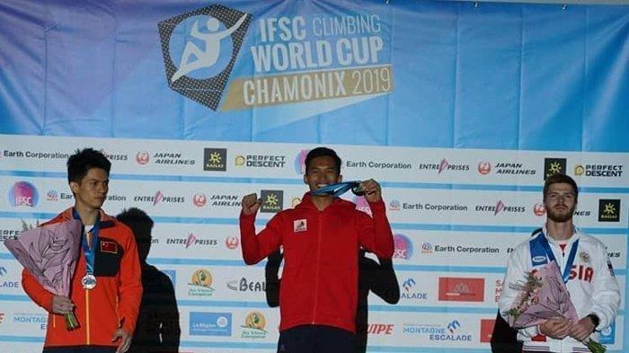 Siapa Sebenarnya Sosok Alfian M Fajri? Atlet Panjang Tebing Indonesia Juara Dunia di Prancis