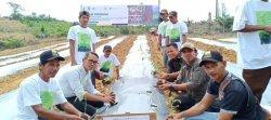 Bantu Perekonomian Kelompok Tani Hutan Binaan, PT RLU Beli Karet Petani di Atas Harga Rerata