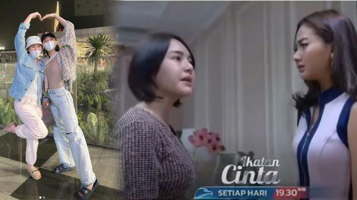 Amanda Manopo dan Glenca Chysara Tunjukan Sisi Kocak Meski dalam Ikatan Cinta Musuhan