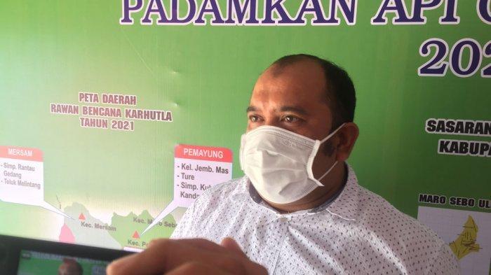 Enam Peristiwa Kebakaran di Batanghari Terjadi Sepanjang 2021, Kerugian Ditaksir Rp 500 Juta