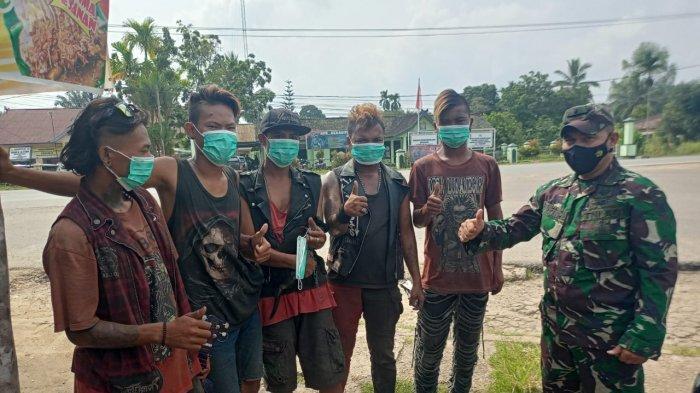 Anak Punk Kembali Berkeliaran di Sengeti, Pabung Sebut Akan Lakukan Pembinaan Bersama Dinas sosial