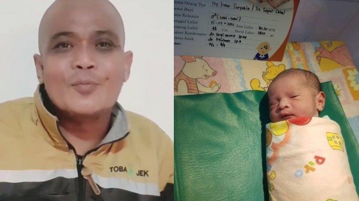 Istri Sapri Pantun Melahirkan Nama Anak Sudah Disiapkan Sebelum Wafat, Sang Adik Terisak Azani Bayi
