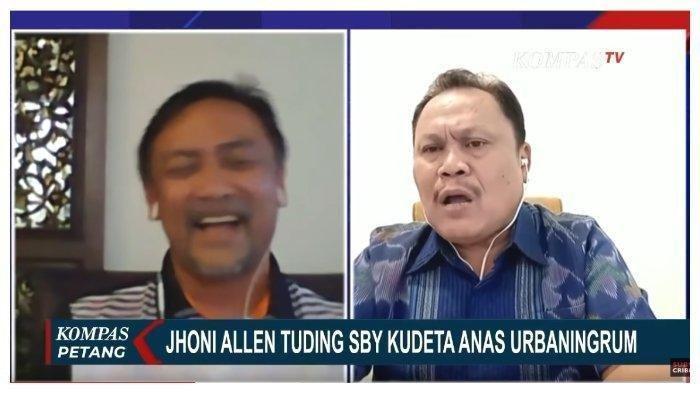 Andi Mallarangeng dan Jhoni Allen Debat Sengit di Kompas TV, SBY dan Korupsi Hambalang Ikut Diungkit