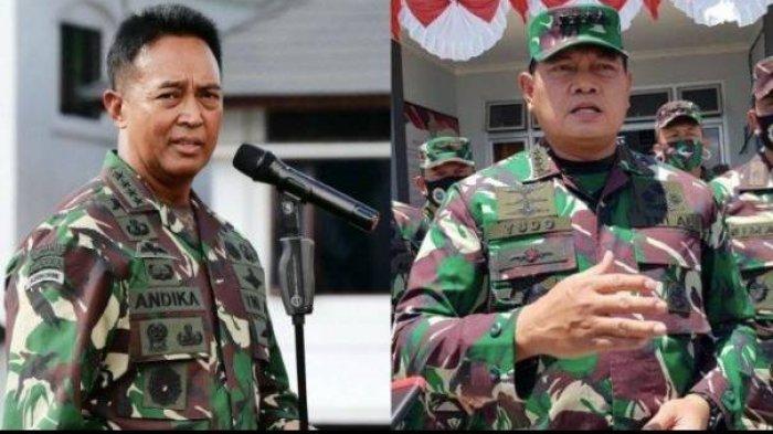 Jenderal TNI Andika Perkasa atau Laksamana Yudo Margono, Siapa Paling Berpeluang Jadi Panglima TNI?