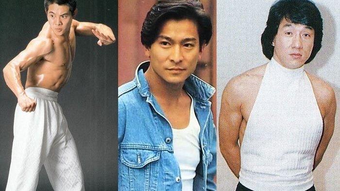 DULU Kaya Raya Digilai Cewek-cewek, Begini Penampakan Jackie Chan, Jet Li dan Andy Lau Terkini
