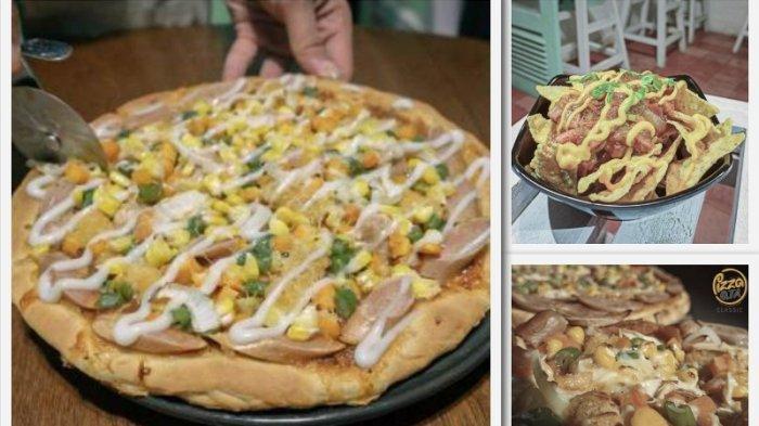 GALERI FOTO - Pizza Qta, Rotinya Lembut dengan Saus Enak Racikan Sendiri. Harga Mulai Rp20 Ribu