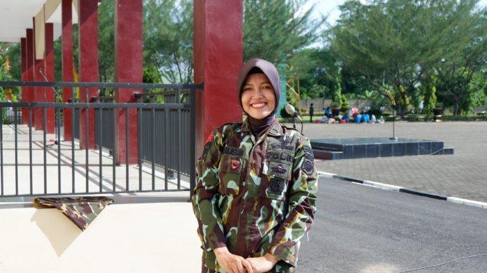 Anggota Brimob Polda Jambi, Miranti Silaban bercerita saat bertugas jadi BKO Brimob