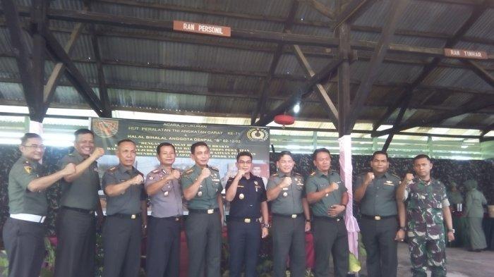 Denpal Syukuran HUT Ke-71 Peralatan TNI Angkatan Darat