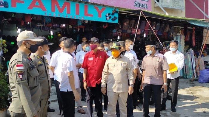 Anggota DPRD Sidak ke Pasar Atas Sarolangun, Beri Penjelasan Soal Naiknya Harga Sewa Kios Pemda