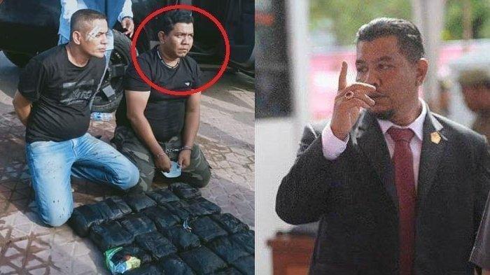 Anggota DPRK Bireuen Ditangkap BNN Bawa 25 Kilogram Sabu Yang Akan Dikirimkan ke Jambi