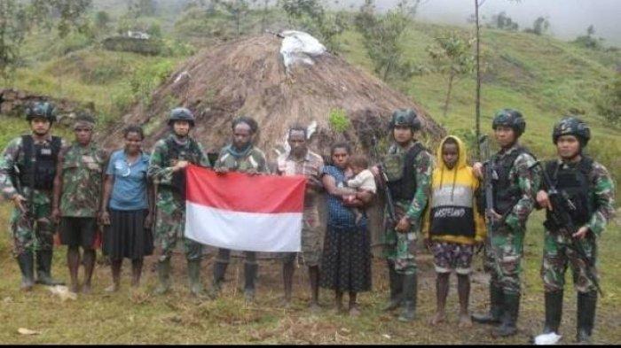 Anggota KKB Papua menyerahkan diri dan kembali ke pangkuan NKRI.