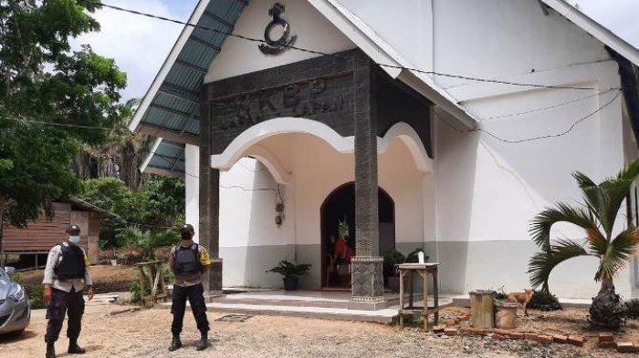 Terjadi Bom di Gereja Katedral Makassar, Polres Tanjab Barat Langsung Tingkatkan Pengamanan