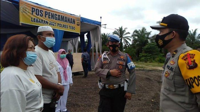 BPBD Tebo Harap Pengendara Lengkapi Persyaratan Dari Pada Dipaksa Putar Balik