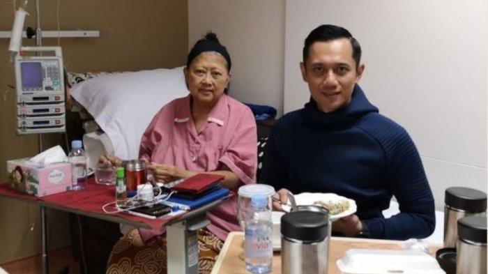 Sempat Terlihat Segar Keluar Ruang RS, Kini Ani Yudhoyono Kritis Masuk ICU, AHY Ungkap Kondisinya