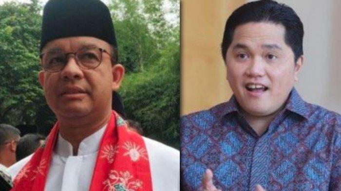 Anies-Erick Digadang Jadi Calon Kuat Pilpres 2024, Arief Poyuono: Bergantung Isi Kantong Mereka Aja