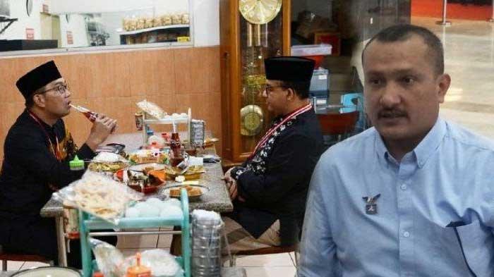 Ridwan Kamil dan Anies Baswedan Akrab di Meja Makan, Ferdinand Hutahaean Sindir: Itu Hanya Pura-pura