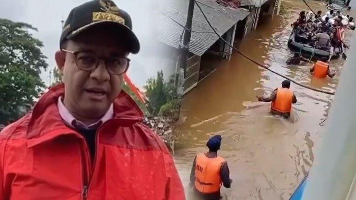 VIRAL Cara Anies Baswedan Tangani Banjir, Bukan Air Dikirim ke Laut Melainkan Hal Ini yang Dilakukan