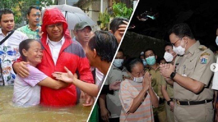 Janji Anies Baswedan Soal Banjir Jakarta Bisa Surut 6 Jam Disorot, Kini Salahkan Kiriman dari Depok!