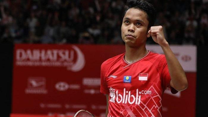 HASIL SEMIFINAL Thailand Open 2021 Hari Ini 15 Januari 2021, Jalannya Pertandingan Anthony Ginting