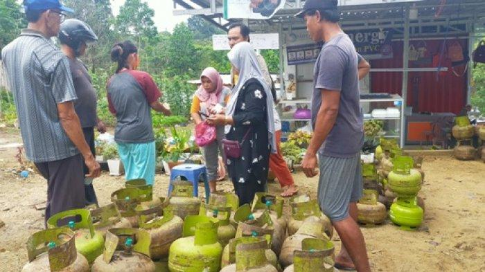 Harga Gas Melon di Kabupaten Bungo Melambung Tinggi