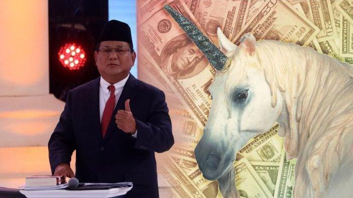 Ini Maksud Unicorn yang Dianggap Prabowo Buat Dana Lari ke Luar Negeri! di Indonesia Sudah Ada 4