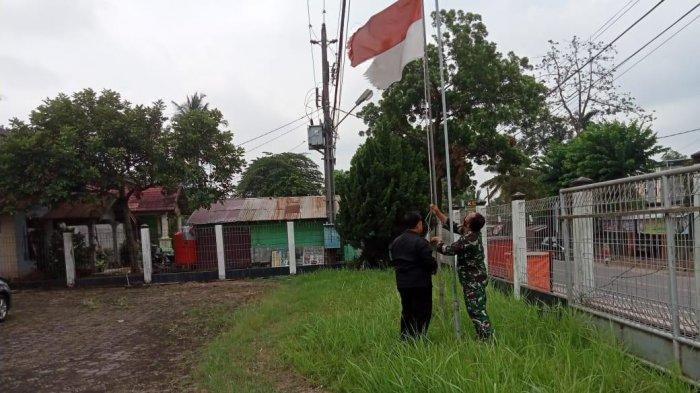 Kecewa Temukan Perusahaan Kibarkan Bendera Sobek dan Kusam, Danramil Telanaipura: Kita akan Patroli