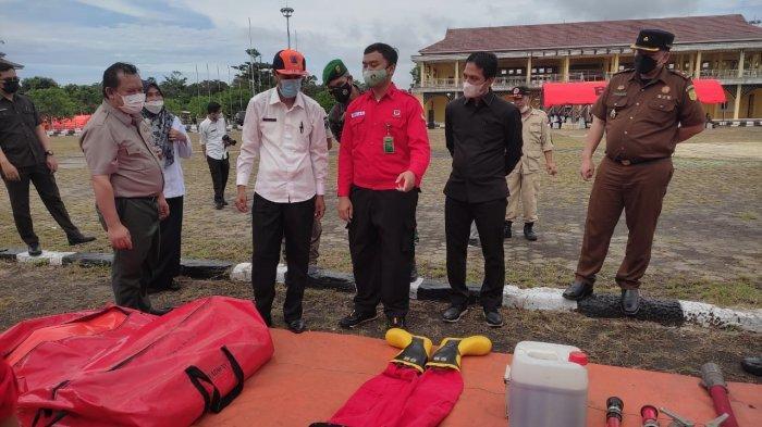 Apel Gabanguan Satgas Karhutla di Batanghari, Sekda Sebut Ketika Musibah Terjadi Sudah Siap
