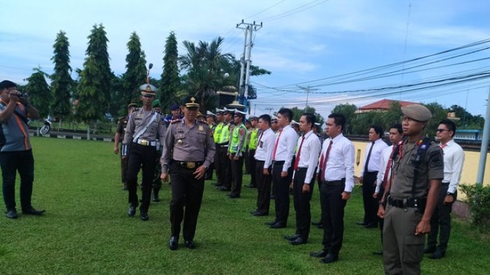Polres Tanjabtim Siagakan 182 Personel Amankan PSU