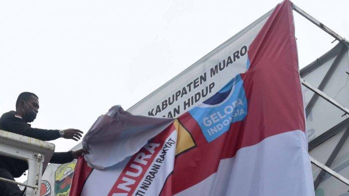 APK Calon Gubernur Jambi di Muarojambi Mulai Dicopot, Andi: Tidak Ada Penolakan Warga
