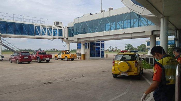 Situasi Apron Bandara Sultan Thaha Jambi.