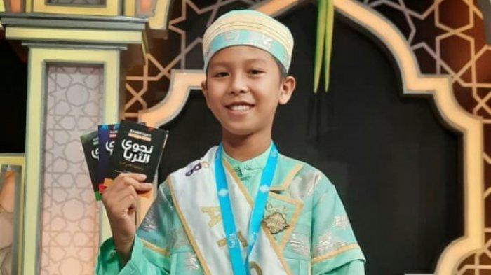 Ar Rayyan, Peserta Hafiz Indonesia 2021 Asal Tebo Masuk Predikat Terbaik II Tingkat Nasional