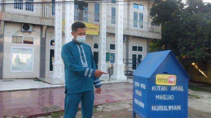 Aksi Cepat Pencuri Kotak Amal di Talang Bakung Terekam CCTV, Warga Sebut Pelaku Sudah Ahli