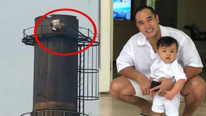 Suami Nia Ramadhani Rekam Pria Bunuh Diri yang Teriakan Jokowi, Cerobong Asap 40 Meter