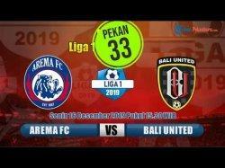 TONTON SEKARANG Live Streaming Arema FC vs Bali United, Liga 1 2019 Laga Big Match Langsung Indosiar