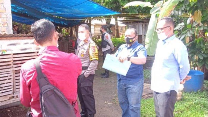 Polisi Tutup Arena Judi Sabung Ayam di Pekarangan Rumah Warga Tebo