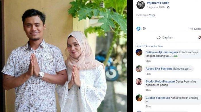 Arif Wijanarko Tak Kuat Lihat Jasad Calon Istri, Sudah Sebar Undangan, Sri Tewas Dalam Kecelakaan