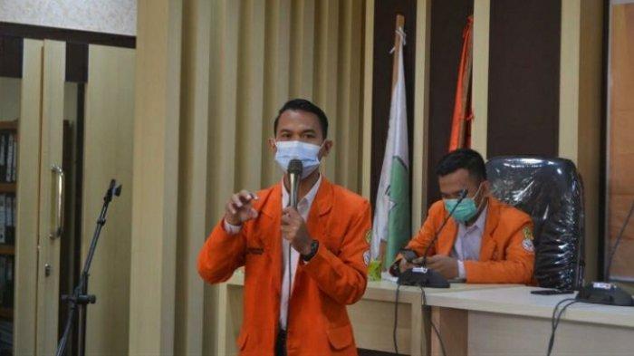 Momen Hardiknas BEM FKIP Unja Luncurkan Tuntutan ke Pemprov