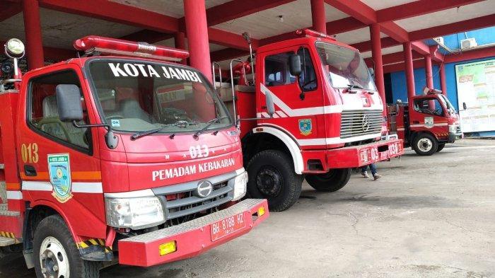Damkar Kota Jambi Tangani 22 Peristiwa Kebakaran Selama 2021, Didominasi Konsleting Listrik