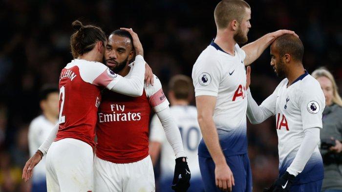 LINK NONTON Arsenal vs Tottenham Malam Ini di Liga Inggris, Derby London Utara ke-190
